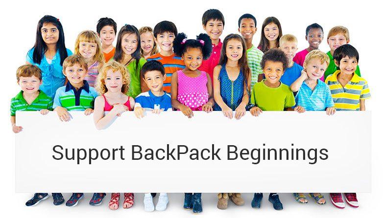 Support BackPack Beginnings