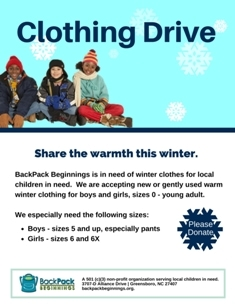 Winter Clothing Drive thumb