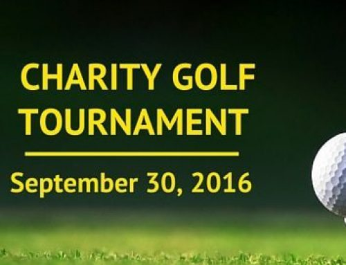 Charity Golf Tournament- Sept. 30, 2016
