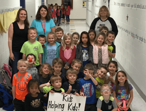 Pearce Elementary Raises Money for Hungry Kids
