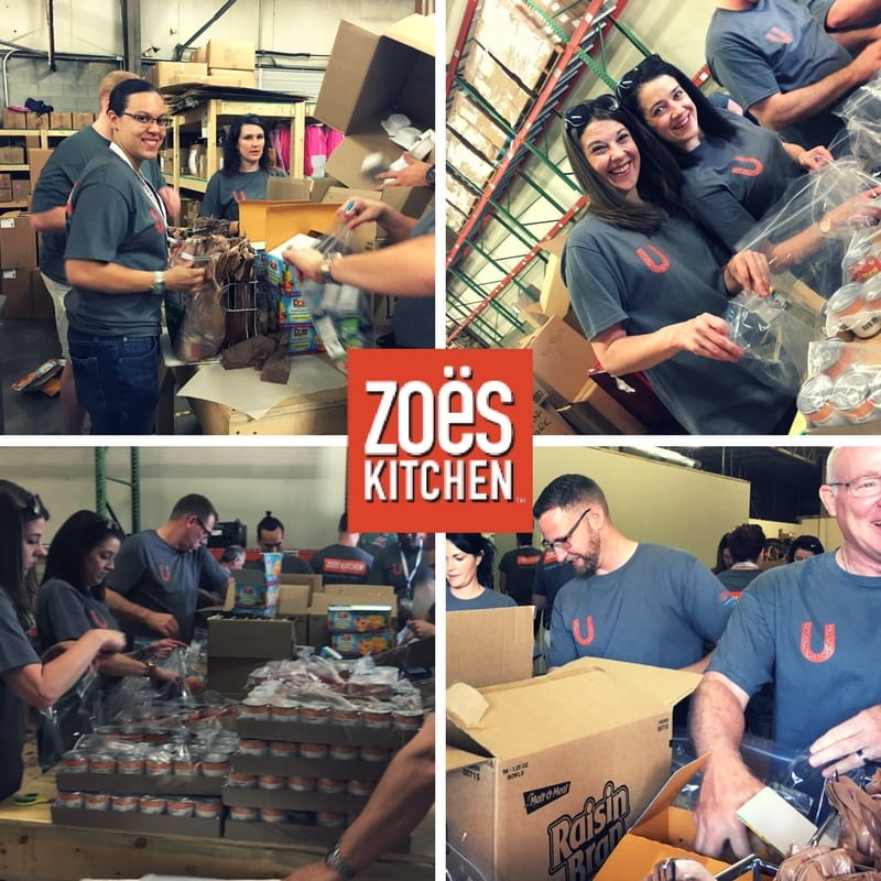 Zoës Kitchen Gives Back