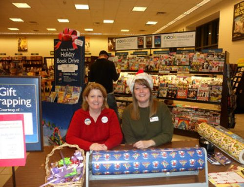 Barnes & Noble Drive and Gift Wrapping- Dec. 2016