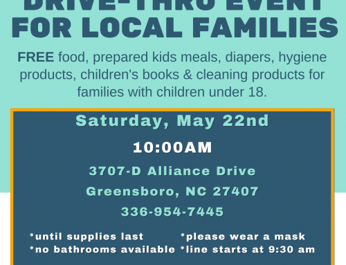 Drive-Thru Event for Local Families