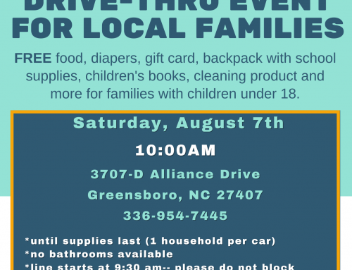 2nd Drive-Thru Event for Local Families